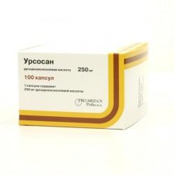 Урсосан, капс. 250 мг №100
