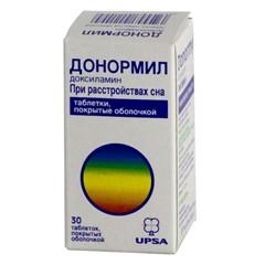 Донормил, табл. п/о 15 мг №30