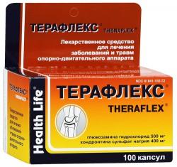 Терафлекс, капс. 500 мг+400 мг №100